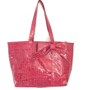 Rare Disney Parks Mickey Mouse Red Resort Tote